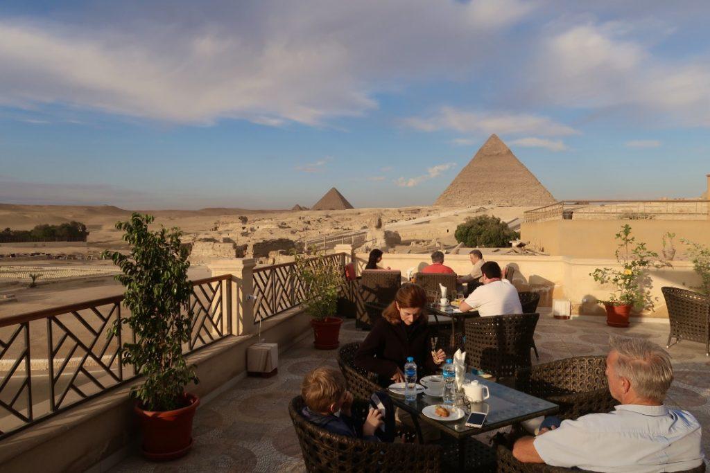 Y'a-t-il un plus bel endroit en Égypte pour prendre son petit déjeuner ?
